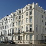 Brighton Seafront Houses Clarendon Terrace, Kemp Town Listed Building
